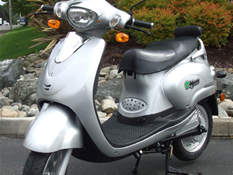 e-moto 2000 Watt Classic Electric Moped Scooter